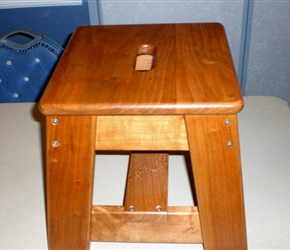 STEP STOOL BY PAUL VOULAY