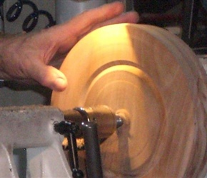 6 FINDING THE PART OF BOWL TO BE CUT OUT