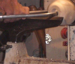 05  USING TOOL TO HOLLOW OUT SPHER
