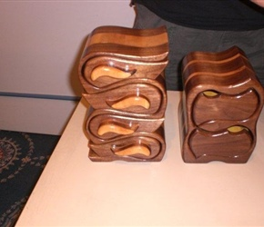 JEWELRY BOXES BY RICHARD BENDER