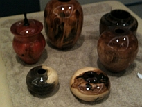 Various Turnings By Rick Pixley